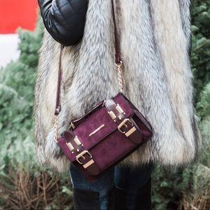 ASOS Deep Burgundy/ Merlot Crossbody Bag